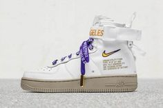Nike Special Field Air Force 1 Mid LA Los Angeles Nordstrom Air Force 1 Mid 784418ad2