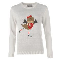 Shop for Star Womens Ladies Christmas Jumper Sweater Pullover Long Sleeve Crew Neck Top at ShopStyle.