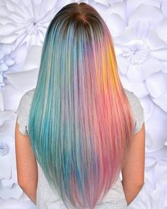 ADORE THIS AUDITION BY @kcerenahair SHOW SOME UNICORN LOVE AND GIVE HER A FOLLOW! ・・・ Tropical sunset  I've had this vision in mind for months now and since there is a @theunicorntribe audition I decided now would be the perfect time to go for it! So happy to finally bring it to LIFE!  Used @pulpriothair and my favorite  @brazilianbondbuilder ❤❤ 1. My whole life I have suffered from major social anxiety. It wasn't until I discovered the art of hair that I was able to break out my big ba...