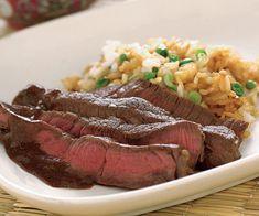 Miso-Marinated Sirloin Steak (Gyuniku no misozuke)