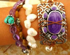 finished today and loving it!  #handmade #jewelry #armparty