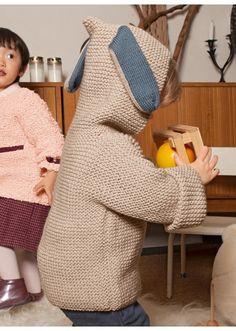 Wooling n°3 - n°24 Gilet zippé à capuche Modèles, broderie & tricot Achat en ligne