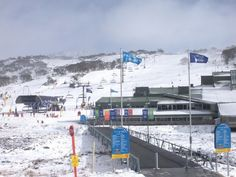 Perisher ski resort NSW