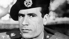 Young Muammar Gaddafi