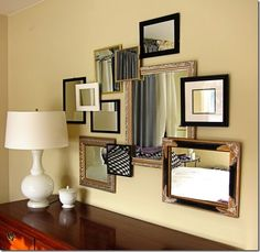 How to create a 3D gallery wall