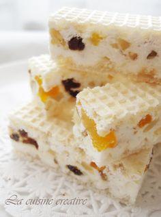 Evo jedne zgodne ideje za brzi slatkis za koji vam nece trebati puno vremena, a vrlo je dekorativan, nesto poput Marshamallow kockica samo ... Mini Desserts, Chocolate Desserts, Delicious Desserts, Baking Recipes, Cookie Recipes, Dessert Recipes, Ice Lolly Recipes, Torta Recipe, Kolaci I Torte