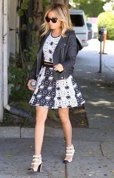 Ashley Tisdale Photos - Ashley Tisdale Takes Care of Business - Zimbio