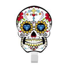 Gancho Caveira Sugar Skull - Diamante