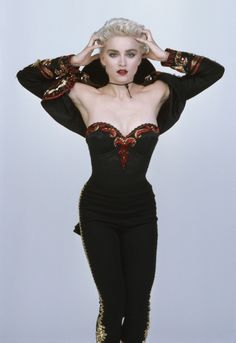 """""""Madonna photographed by Herb Ritts, 1987 """""""