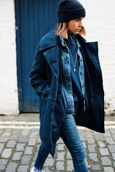 The Petticoat - Total Blue Denim in London LFW 15 thepetticoat 3