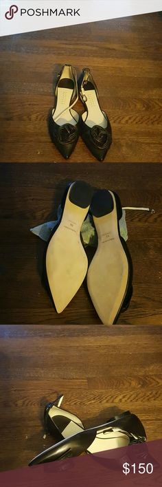 Selling this BARNEYS  NEW YORK FLATS in my Poshmark closet! My username is: fludrey. #shopmycloset #poshmark #fashion #shopping #style #forsale #Barneys New York CO-OP #Shoes