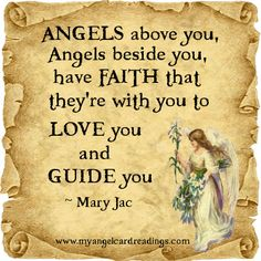 Angels to Guide me!