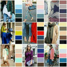 Colour combinations fashion, outfit combinations, color combinations, c Colour Combinations Fashion, Color Combinations For Clothes, Fashion Colours, Colorful Fashion, Colourful Outfits, Blue Color Schemes, Colour Pallette, Color Combos, Wardrobe Color Guide