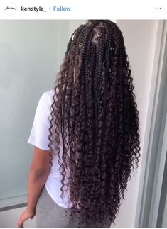 Big Box Braids Hairstyles, Braids Hairstyles Pictures, Faux Locs Hairstyles, Black Girl Braided Hairstyles, Twist Braid Hairstyles, African Braids Hairstyles, Protective Hairstyles, Baddie Hairstyles, Formal Hairstyles