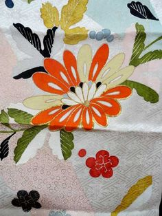 SF1231 Vintage Japanese Hand Painted and por TheHauserGallery