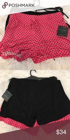 Cynthia Roley Hearts Short Set Cynthia Roley Hearts Short Set.  Includes two pairs of shorts.  One with hearts 💕 and one solid black. Cynthia Rowley Intimates & Sleepwear Pajamas