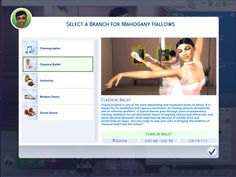 Mod The Sims: Ultimate Dancer Career by asiashamecca The Sims 4 Pc, Sims Four, Sims 4 Mm, Sims 4 Body Mods, Sims 4 Game Mods, Die Sims 4 Packs, Sims 4 Cc Folder, Sims 4 Family, Sims 4 Expansions