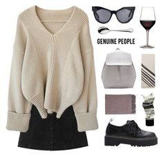 GP 4 by ruthaudreyk on Polyvore featuring polyvore fashion style Monki Karen Walker Aesop Johnstons of Elgin Robbe & Berking Genuine_People