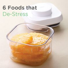 Feeling pressured? Helpful tips to relieve stress! - 6 Foods that De-Stress