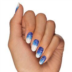 Blue Ridge Nail Design by NailSnaps | NailSnaps
