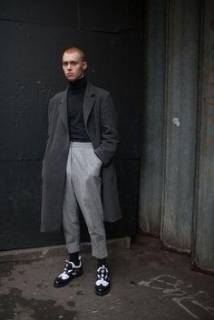 London Men's Fashion Week street style / #MIZUstyle