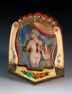 """""""Ego"""", 2005,  Mixed-media brooch #1740, 4 1/4"""" x 3 1/4"""" x 1"""",  Private collection."""