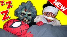 Spiderman Nightmare vs Zombies! Scary superheroes in real life video.