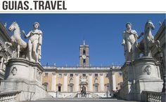 La Plaza del Campidoglio, en el monte Capitolino. Fue encargada por el Papa Pablo III a Miguel Ángel. http://www.viajararoma.com/?page=monumentoscentrohistorico.php