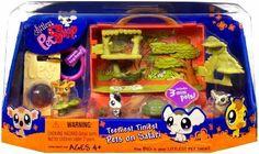 Littlest Pet Shop Teeniest Tiniest Mini Figure 3Pack Africa Safari by Hasbro. $24.95
