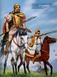 Angus Mc Bride - La invasión de Macedonia - Siglo V AC