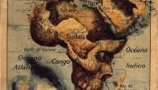 Continents On Maps Transformed Into Paintings Of People And Animals - DesignTAXI.com