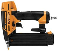 Bostitch Smart Point Brad Pneumatic Nailer at Lowe's. The Bostitch smart point 18 gauge brad nailer kit is designed to drive 18 gauge brad nails from In. This nailer Best Random Orbital Sander, Smart Points, Finish Nailer, Small Nose, Brad Nails, Nail Gun, Thing 1, Oil Stains, Sub Brands