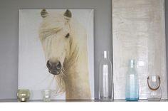 La pintura de un caballo nunca debe faltar en tu hogar!