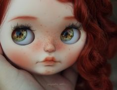 RESERVED Elizabeth OOAK Custom Art Blythe Doll by by Rainfable
