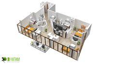 residentail 3d floor plan design australia