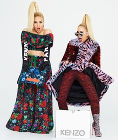 Welcome to the adventurous fashion planet of twins Cailli and Sam Beckerman.