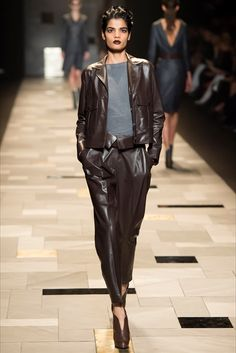 Giacca di pelle: i modelli dell'Autunno Inverno 2015/16 - Vogue.it