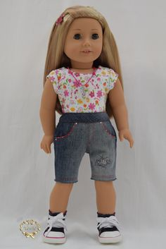 American girl doll Jeans knee length Only