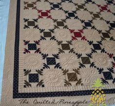 """THE QUILTED PINEAPPLE: Quilting Eye Candy:""""Hospitality"""""""