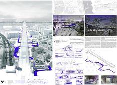 Urbanogram - Revitalization of the Poniatowski viaduct and bridge