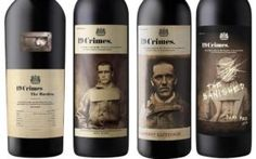 Wine label tells the story of Australia - blokboek.comWine label tells the story of Australia - blokboek.com
