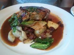 Pork Chops at the Wood Tavern in Oakland/Berkeley - Best ever!