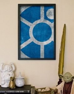 Be subtle. | 21 Wonderfully Geeky Ways To Create The Perfect Star Wars Nursery