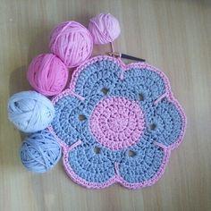 crochet rug | btrixdsigns crochet rug |