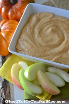 We're all crazy for Pumpkin, but not all recipes and products are healthy. Check out this Pumpkin Yogurt Dip made with Plain Chobani!