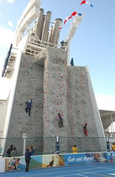 Royal Caribbean Freedom of the Seas: Freedom of the Seas Rock Climbing Wall