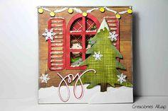"Tarjeta navideña ""Joy"" / Christmas card ""Joy"""