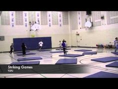 Modified Striking Games for Elementary Physical Education