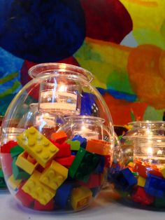LEGO - DIY by PartyLite  Pour voir plus / to see more: http://www.partylite.biz/francisguay