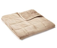 Relax and calm the mind and body when you wrap up in a snuggly weighted blanket. The softly plush fabric comes in a neutral tan shade. The calming touch simulates a feeling of being hugged. Big Lots Store, Dog Blanket, Weighted Blanket, How To Relieve Stress, Relax, Sleep, School Counselor, Calming, Autism